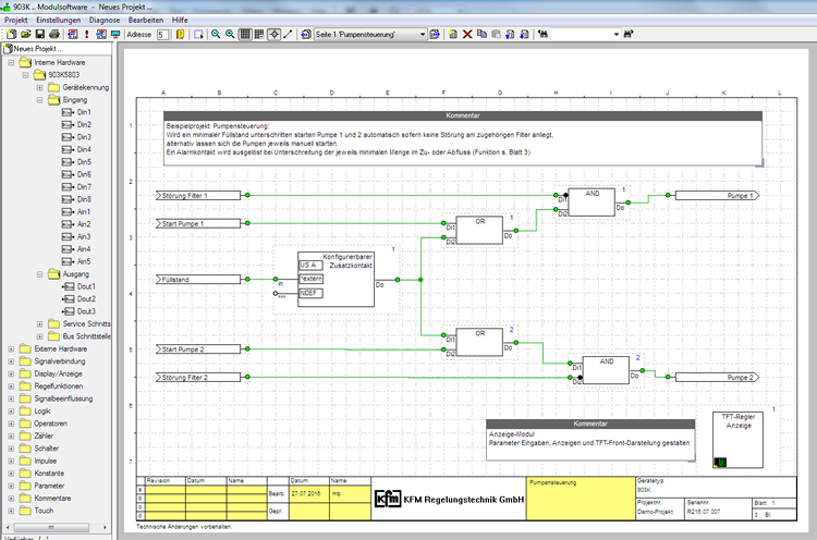 demosoftware screenshot